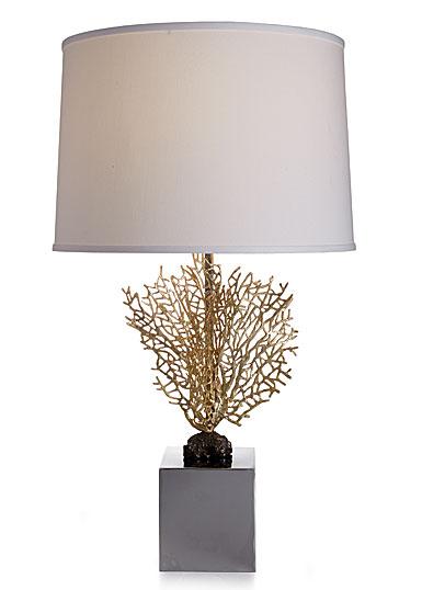 Michael Aram Fan Coral Table Lamp Crystal Classics
