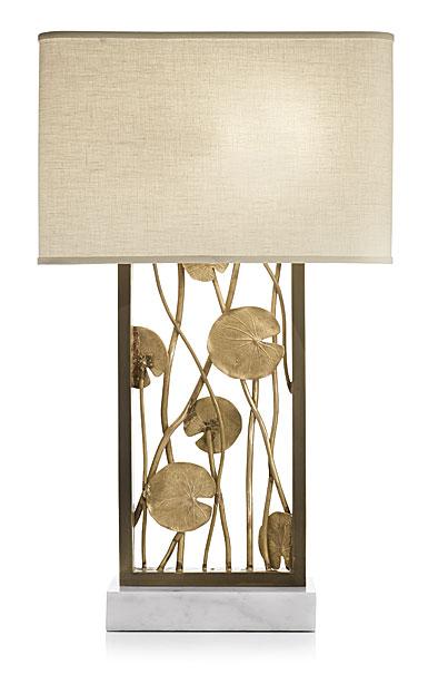 Michael Aram Lily Pad Table Lamp, Bronze