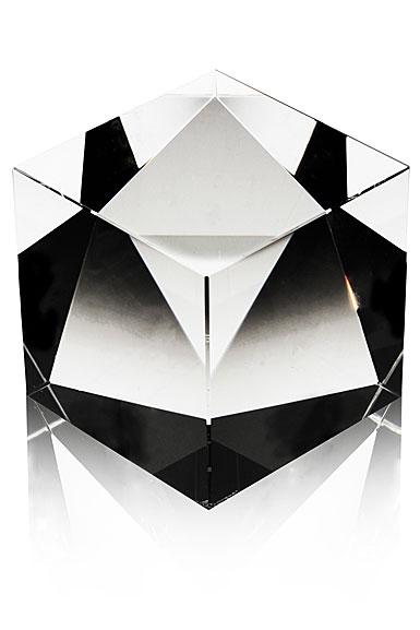 Steuben Desk Accessory, Cube Crystal