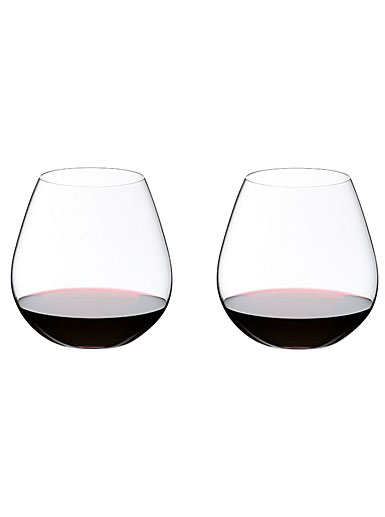 Riedel O Stemless, Pinot Nebbiolo Wine Glasses, Pair