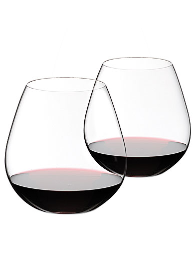 f3992c27213 Riedel O Stemless, Pinot Nebbiolo Crystal Wine Glasses, Pair