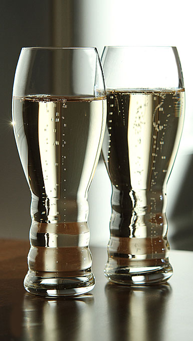Riedel O Champagne Glasses, Pair
