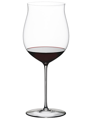Riedel Sommeliers, Hand Made, Superleggero Burgundy Grand Cru Crystal Wine Glass, Single