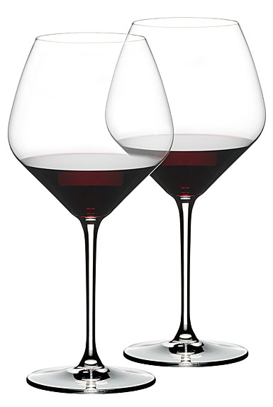 Riedel Extreme Pinot Noir Crystal Wine Glasses, Pair