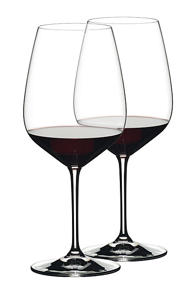 Riedel Extreme Cabernet Crystal Wine Glasses, Pair