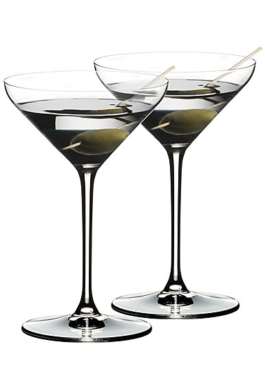 Riedel Extreme Crystal Martinis, Pair