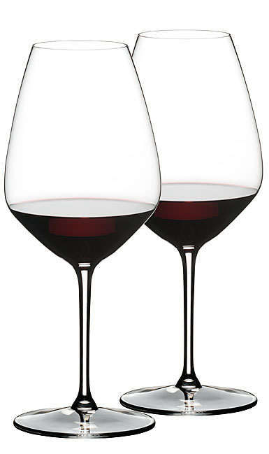 Riedel Extreme Shiraz Crystal Wine Glasses, Pair