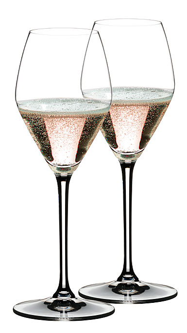 Riedel Extreme Rose Champagne Crystal Wine Glasses, Pair