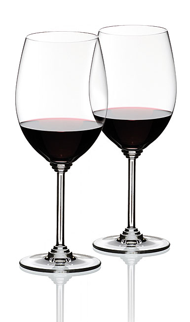Riedel Wine, Cabernet, Merlot Crystal Wine Glasses, Pair