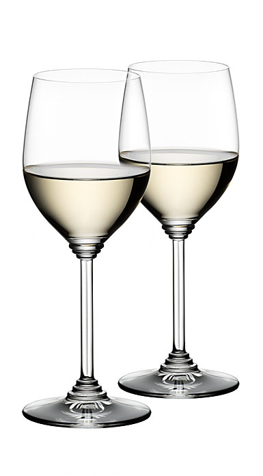 Riedel Wine, Viognier, Chardonnay Crystal Wine Glasses, Pair