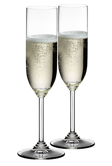 Riedel Wine, Champagne Crystal Glasses, Pair