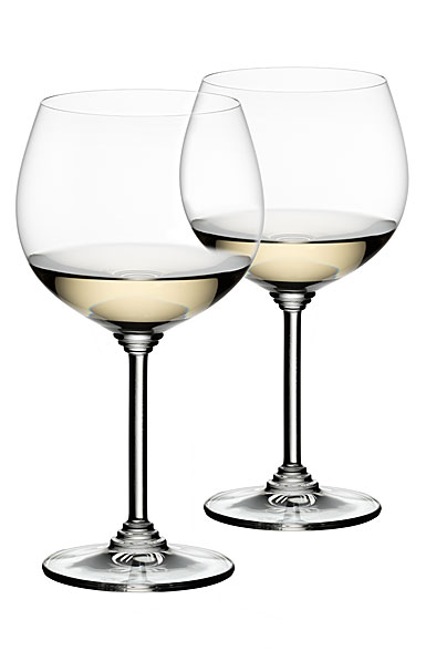 Riedel Wine, Montrachet, Chardonnay Crystal Wine Glasses, Pair