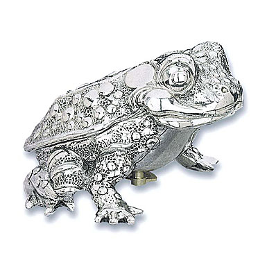 Reed & Barton Musical Toad