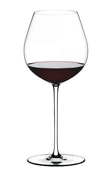 Riedel Fatto A Mano, Old World Pinot Noir Crystal Wine Glass, White