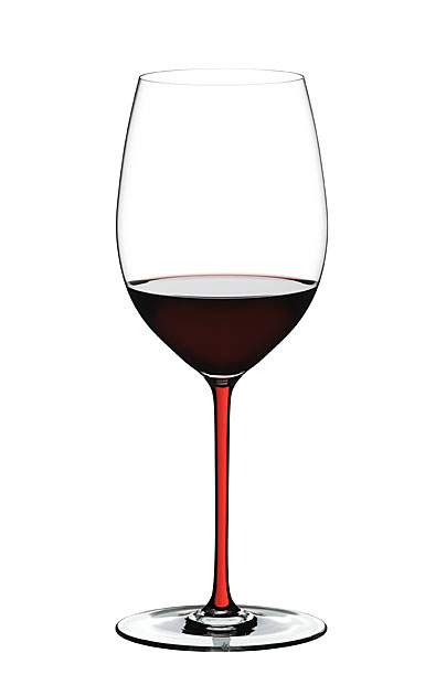 Riedel Fatto A Mano, Cabernet Crystal Wine Glass, Red