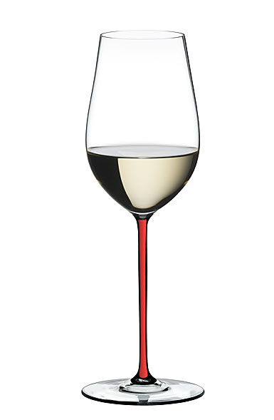 Riedel Fatto A Mano, Riesling, Zinfandel Crystal Wine Glass, Red