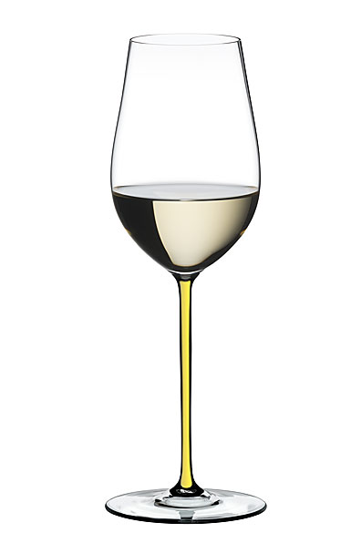 Riedel Fatto A Mano, Riesling, Zinfandel Wine Glass, Yellow