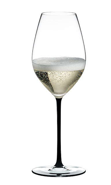 Riedel Fatto A Mano, Champagne Black Glass, Single