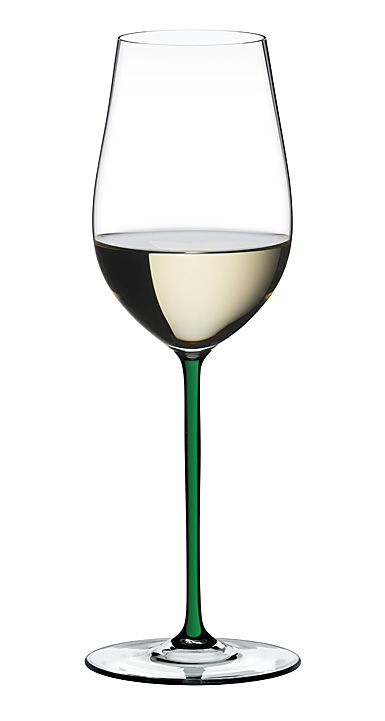Riedel Fatto A Mano, Champagne Green Glass, Single