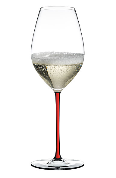 Riedel Fatto A Mano, Champagne Red Glass, Single