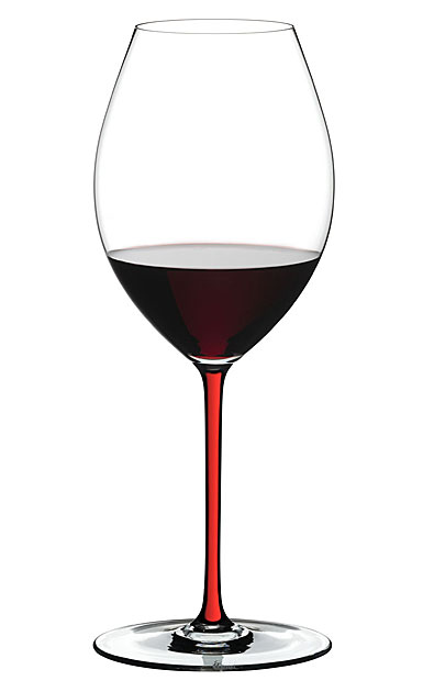 Riedel Fatto A Mano, Old World Syrah Crystal Wine Glass, Red