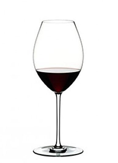 Riedel Fatto A Mano, Old World Syrah Crystal Wine Glass, White