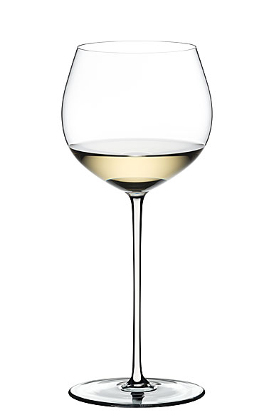 Riedel Fatto A Mano Oaked Chardonnay Glass, White