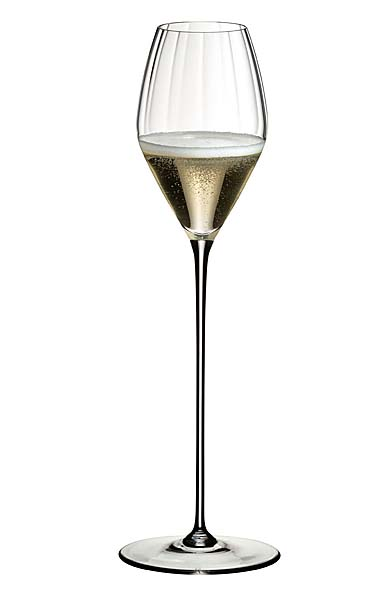 Riedel High Performance Champagne Glass, Single Clear