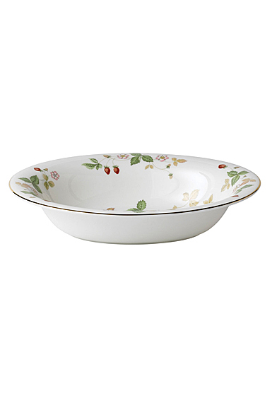 """Wedgwood Wild Strawberry Open Vegetable Bowl Oval 9.75"""""""