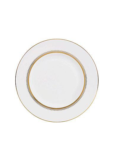 """Vera Wang Wedgwood Golden Grosgrain Accent Salad Plate 9"""""""
