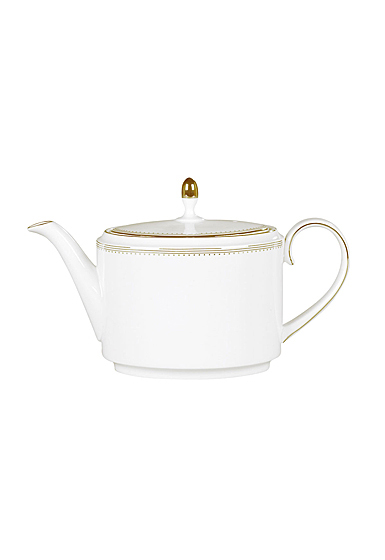 Vera Wang Wedgwood Golden Grosgrain Teapot 1.4 Ltr, 47.3oz.