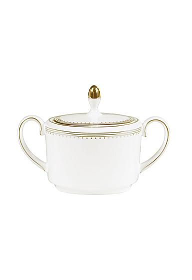 Vera Wang Wedgwood Golden Grosgrain Sugar Imperial