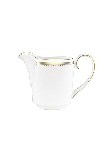 Vera Wang Wedgwood Golden Grosgrain Creamer Imperial