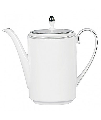 Vera Wang Wedgwood China Grosgrain Coffeepot
