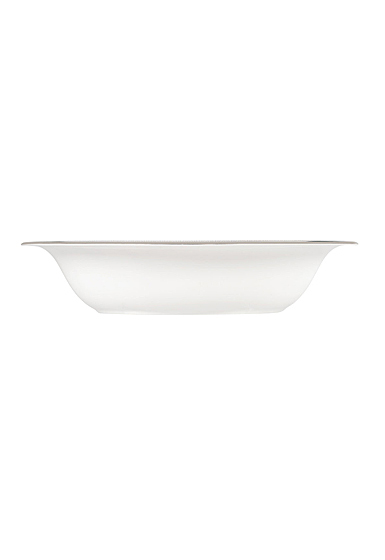 """Vera Wang Wedgwood Vera Lace Open Vegetable Bowl Oval 9.75"""""""