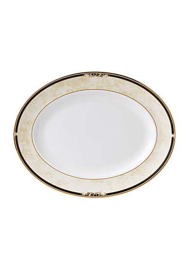 "Wedgwood Cornucopia Oval Platter 13.75"""