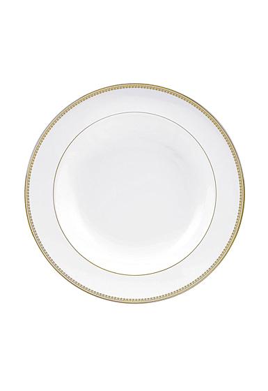 """Vera Wang Wedgwood Vera Lace Gold Rim Soup 9"""""""