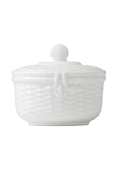Wedgwood Nantucket Basket Sugar
