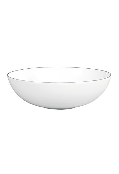 "Wedgwood Jasper Conran Platinum Serving Bowl 12"""