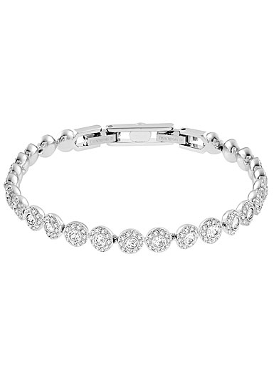 Swarovski Angelic Crystal and Rhodium Bracelet