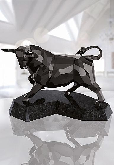 Swarovski Soulmates Black Bull Sculpture