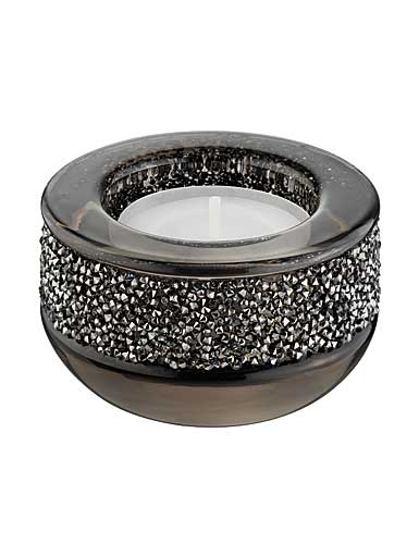 Swarovski Shimmer Tea Light, Gray
