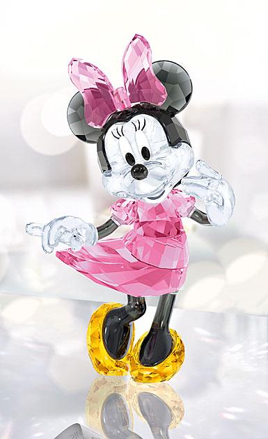 Swarovski Crystal, Disney Minnie Mouse Figure