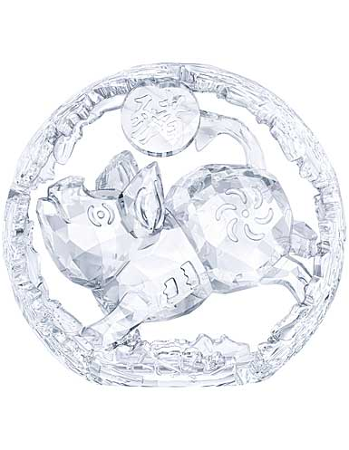 Swarovski Crystal, Chinese Zodiac Pig, Large