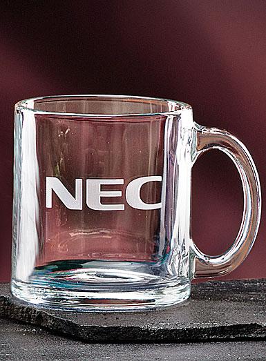 Crystal Blanc, Personalize! 13 oz. Clear Coffee Mug
