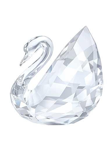 Swarovski Crystal, Small Swan Sculpture
