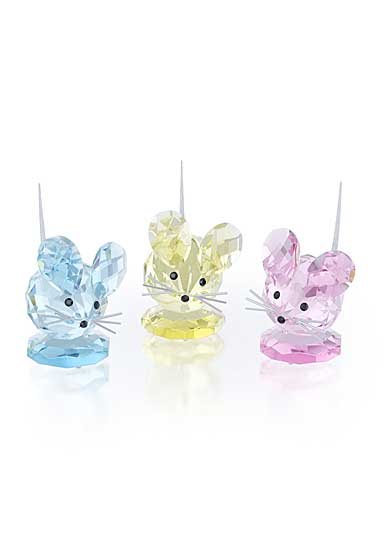 Swarovski Replica Mouse Set of Three, Limited Edition