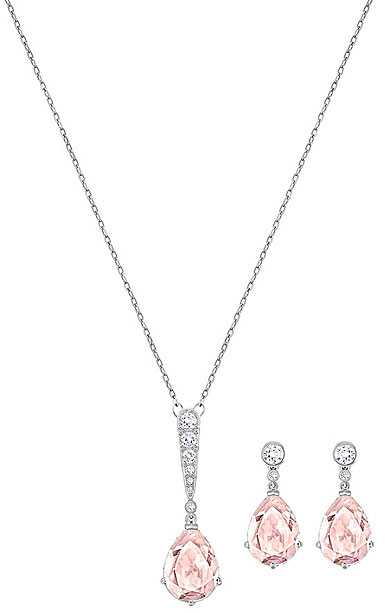 Swarovski Vintage Crystal Rhodium Jewelry Set