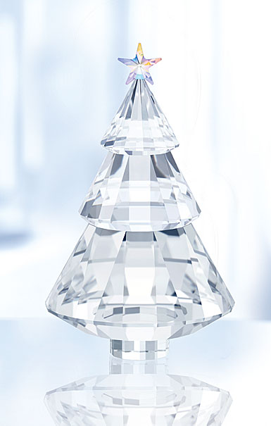 Swarovski Crystal, Christmas Tree Sculpture