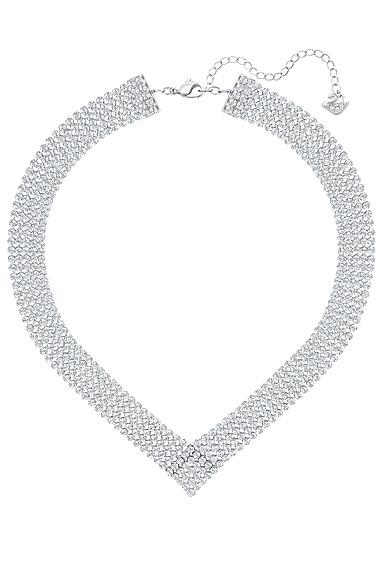 Swarovski Fit V Crystal Palladium Necklace